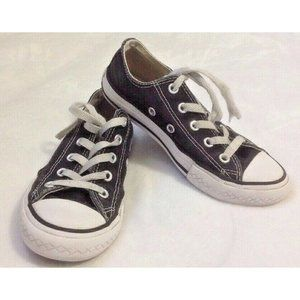 Converse All Star Black Sneakers Sz 13 Low Top